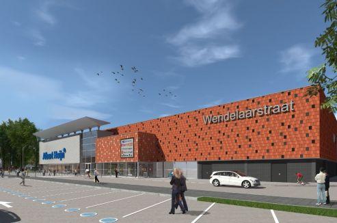 Alkmaar - Renovatie winkelcentrum