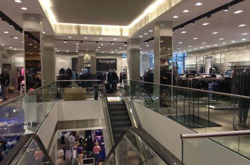 Den Haag - winkelinbouw M&S