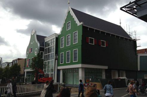 Zaandam - herontwikkeling winkelpand