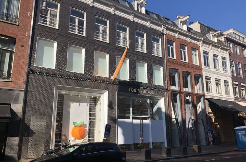 Amsterdam - winkelpand - Pieter Cornelisz Hooftstraat 125