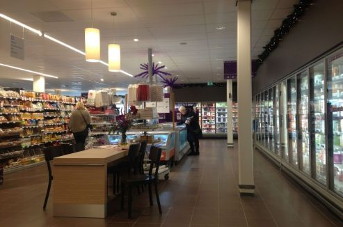 Harderwijk - uitbreiding supermarkt - Albert Heijn - Selhorstweg