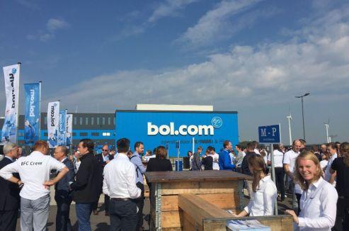 Opening nieuwbouw DC BOL.COM