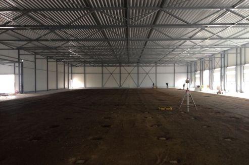 Zwolle - Sandd - Nieuwbouw bedrijfshal