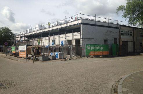 Rosmalen - herontwikkeling winkelcentrum - wijkwinkelcentrum Molenhoekpassage
